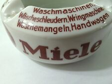 HTF MIELE German VTG ASHTRAY DRGM Appliances Advertising OLD! Unusual Excellent