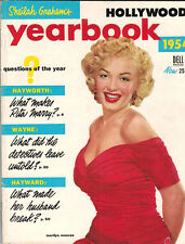 MARILYN MONROE on cover - Hollywood Yearbook 1954