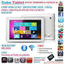 "Cube U30GT2 32go 10,1 ""retina ips rk3188 quad core 1,8 ghz android 4.4 tablet pc"