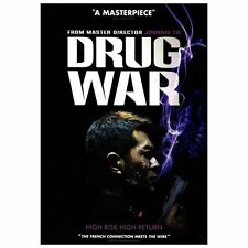 Drug War DVD NEW Johnnie To/Michelle Ye/Huang Yi/Crystal Huang/Honglei Sun