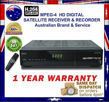 XERO G5 HD Australian Digital MPEG-4 Satellite Receiver&Recorder+1 YEAR WARRANTY