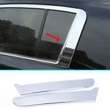FITFOR 11-16 KIA SPORTAGE C PILLAR CHROME REAR WINDOW COVER TRIM MOLDING GARNISH