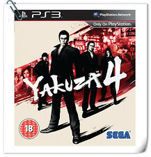 PS3 Yakuza 4 SONY PlayStation Games Action Sega
