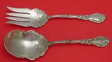 MARECHAL NIEL BY DURGIN STERLING SILVER SALAD SERVING SET 2-PIECE