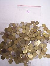 Huge Lot of 4+ Pounds Tokens, Coins, Medals and Others 370+ Pieces.- H