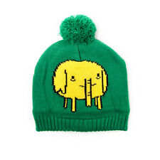 OFFICIAL ADVENTURE TIME TREE TRUNKS GREEN POM BEANIE HAT (BRAND NEW)