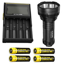 Bundle: Nitecore TM16GT Flashlight w/4x NL183 & D4 Charger