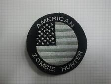 Patch toppa American zombie hunter umbrella scratch termoadesivo cucito