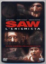 SAW L'Enigmista - DVD steelbook edition 455