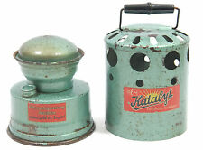 VINTAGE GERMANY PORTABLE FUEL HEATER KATALYT -  ( OPTIMUS PRIMUS COLEMAN STOVE )
