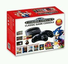 Sega MegaDrive With 80 Built-In Games 25th Anniversary Ed Sonic - Mortal Kombat