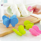 Butterfly Shaped Silicone Insulation Clip Protect Hand Anti-scald Kitchen Device