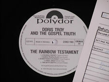 DORIS TROY AND THE GOSPEL TRUTH -The Rainbow.. LP Polydor Promo Archiv-Copy mint