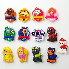 13pcs Cartoon Police Paw Dogs Shoe Charms Fit Croc/Jibbitz Bracelets Child Gift