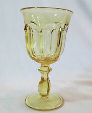 Imperial Old Williamsburg Yellow Water Goblet(s)