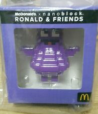 Malaysia Mcdonald Nanoblock Ronald & Friends with box 2016 GRIMACE