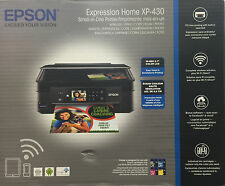 NEW Epson Home XP-430 (434) Printer-Scan/copy-wireless-2.7 LCD+memory Card Use