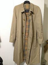 Burberry Mantel Trenchcoat Herren Gr. 54 beige
