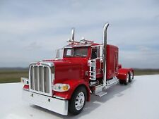 "DCP 1/64 SCALE 389 PETERBILT 63 "" BUNK (DAY CAB OPT) RED"