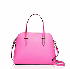 NWT Kate Spade Cedar Street Maise Leather Handbag Rouge Pink Saffiano $298