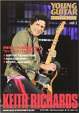 Rock & Guitar collection book Special number of KEITH RICHARDS TheRolling stones