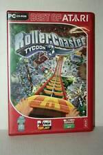 ROLLERCOASTER TYCOOON 3 GIOCO USATO PC CDROM VERSIONE TEDESCA RS2 37641