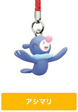 Pokemon Popplio Sun & Moon Netsuke Mascot Strap Cell Phone Capsule Figurine Toy