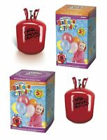 HELIUM Gas Cylinder/Canister - Choice of Size - Fills 30/50 Party Balloons