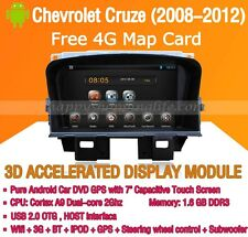 Android 5.1 Car DVD Radio Stereo GPS Navi Wifi for Chevrolet Cruze Holden Cruze