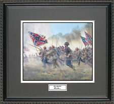 Mort Kunstler WITH A REBEL YELL II Framed Print Civil War Wall Art Gift