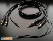 Van Damme Phono Turntable / Tonearm cable RCA-RCA version