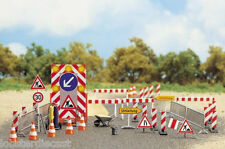ROAD CONSTRUCTION SET 1/87 / HO scale plastic model Busch