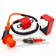 Racing Ignition Coil CDI Spark Plug For CG 125 150 200 250cc Dirt Bike ATV Quad