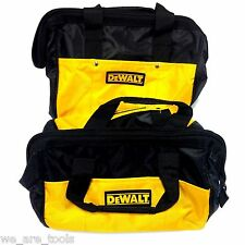 "2 New Dewalt 12"" Tool Bag/Case For Drill, Saw, Grinder,Battery 18V 12 14 18 VOLT"