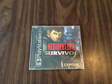 Resident Evil: Survivor (Sony PlayStation 1, PS1) Brand New - Factory Sealed