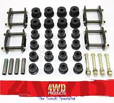 Spring Bush / Bolt / Greasable Shackle kit - Suzuki LJ80 Sierra Maruti