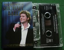 Michael Ball Very Best In Concert at The Royal Albert Hall Cassette Tape TESTED