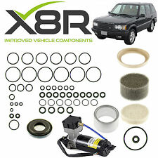 RANGE ROVER P38 EAS AIR COMPRESSOR SEAL LINER VALVE BLOCK O RING DIAPHRAGM KIT