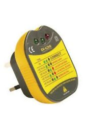 DiLog DL1090 13A Electrical Socket Tester with Audible Buzzer UK