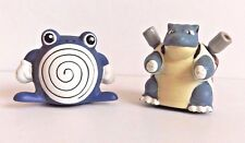 POKEMON SLIDERS FIGURES - ROLLER BALL TYPE - FROM ODDZON - VINTAGE SET OF 2