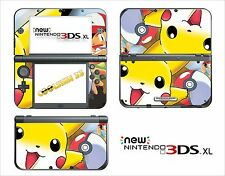 SKIN STICKER AUTOCOLLANT - NINTENDO NEW 3DS XL - REF 101 POKEMON
