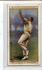 (Jl491-100)Wills,Cricketers,Mr.J.W.H.T.Douglas,1928 #8