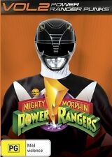 Mighty Morphin Power Rangers: Power Ranger Punks - Vol 2 DVD