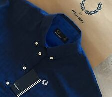 FRED PERRY ladies Houndstooth Polo shirt size  14 BNWT