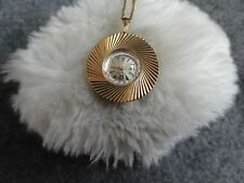 Louis 17 Jewels Vintage Wind Up Necklace Pendant Watch