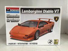 +++ Revell US Monogram 1/24 Lamborghini Diablo VT Plastic Model Kit 85-0889