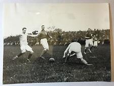 photo press football  Armée Francaise- Armée Anglaise 25/04/1920     171