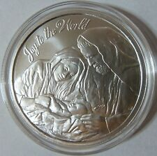 2014 Silver Shield Collection Joy to the World 1oz .999 Silver Bullion Round