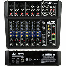 ALTO PROFESSIONAL ZEPHYR ZMX122FX 8Channel Compact Audio FX Mixer $5 Instant Off