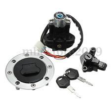 Ignition Switch Lock + Fuel Gas Cap 2 Keys Set For Suzuki GSF600 GSF1200 Bandit